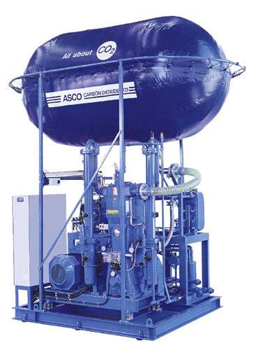 ASCO CO2 Baloon/ Machine